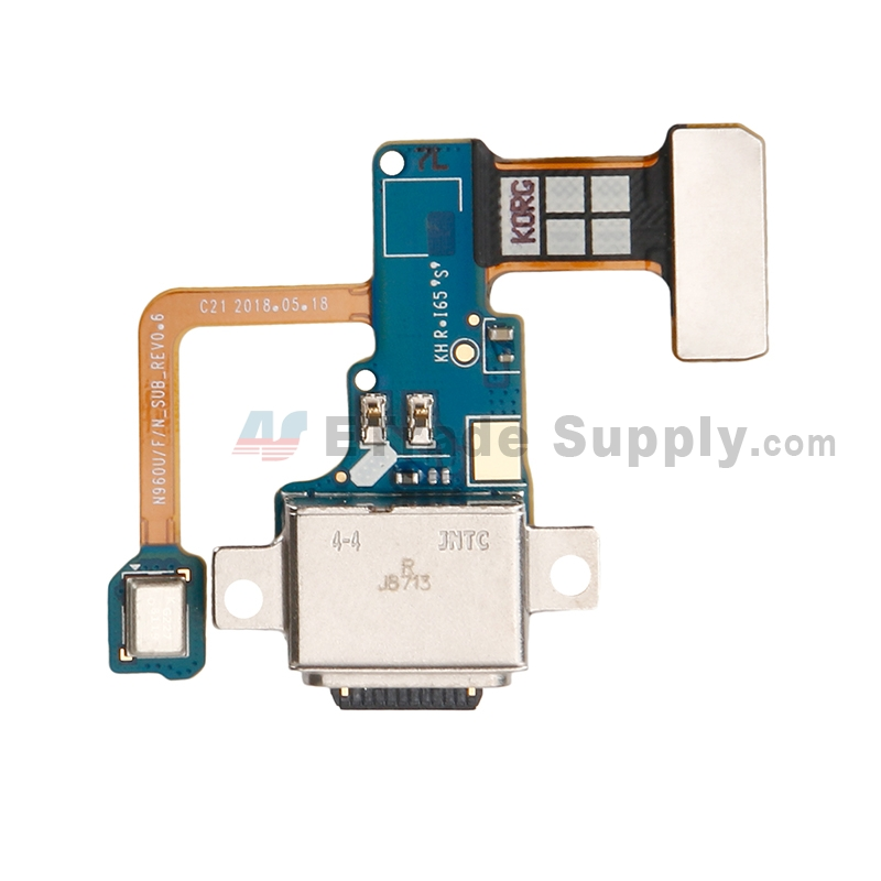 For Samsung Galaxy Note 9 N960U/N960F/N960N Charging Port Flex Cable Ribbon Replacement - Grade S+