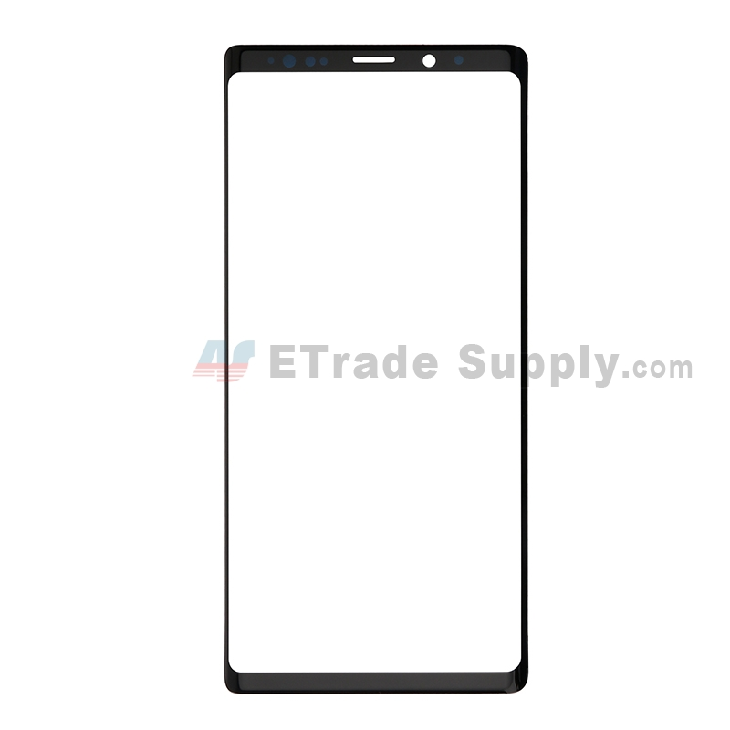 For Samsung Galaxy Note 9 Series Glass Lens Replacement - Black - Without Logo - Grade S+