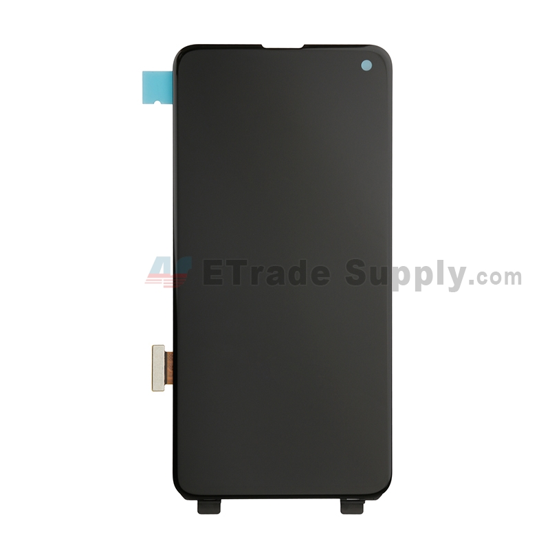 For Samsung Galaxy S10e Series LCD Screen and Digitizer Assembly Replacement - Black - Without Logo - Grade S+