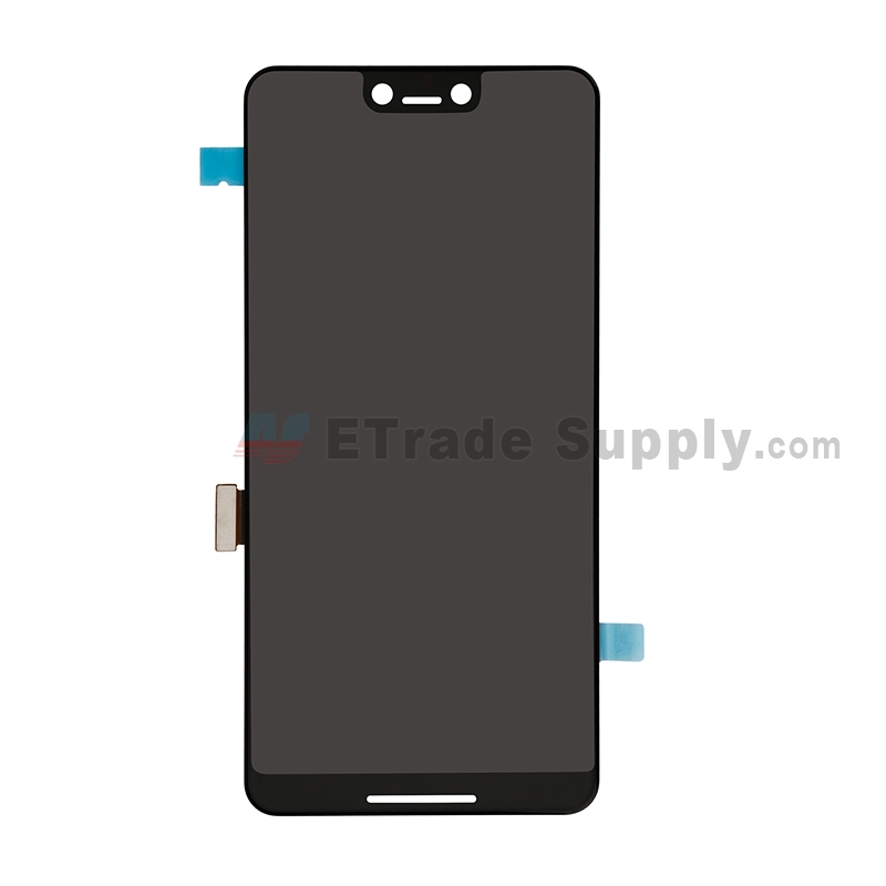 For Samsung Google Pixel 3 XL LCD Screen and Digitizer Assembly Replacement - Black - Grade S+