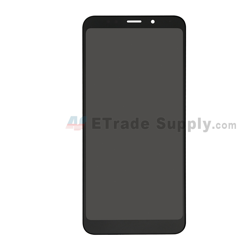 For Xiaomi Redmi 5 Plus LCD Screen and Digitizer Assembly Replacement - Black - Without Logo - Grade S+