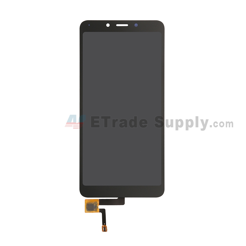 For Xiaomi Redmi 6A LCD Screen and Digitizer Assembly Replacement - Black - Grade S+