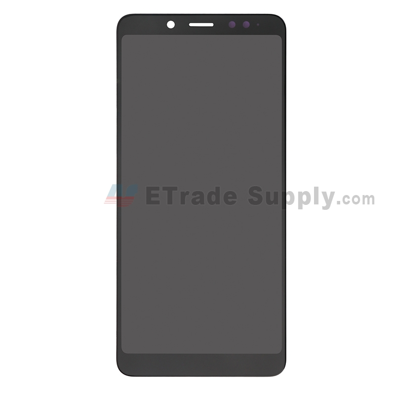 For Xiaomi Redmi Note 5 LCD Screen and Digitizer Assembly Replacement - Black - Without Logo - Grade S+