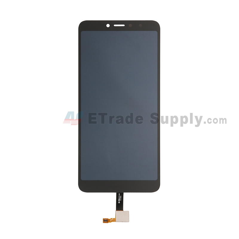 For Xiaomi Redmi S2 LCD Screen and Digitizer Assembly Replacement - Black - Without Logo - Grade S+