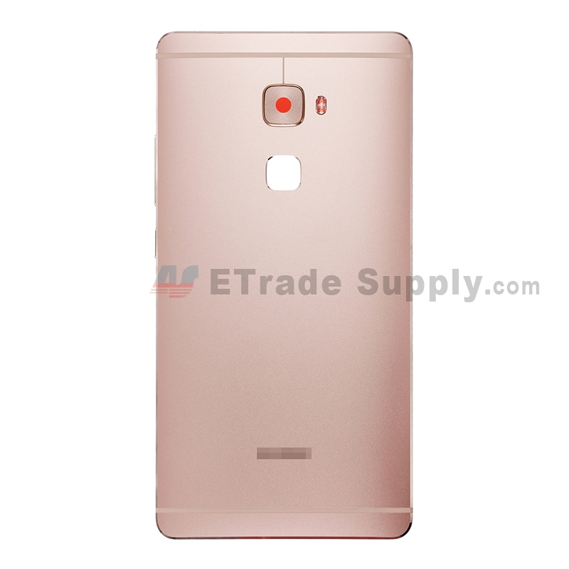 For Huawei Mate S Rear Housing Replacement - Pink - With Logo - Grade S+