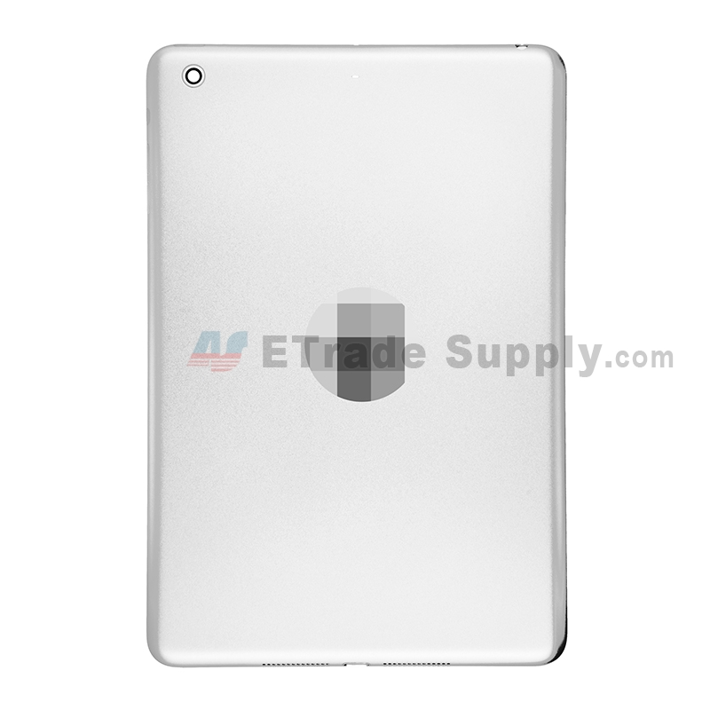 For Apple iPad Mini 2 Rear Housing Replacement (Wifi Version) - White - Without Capacity Icon - Grade S+