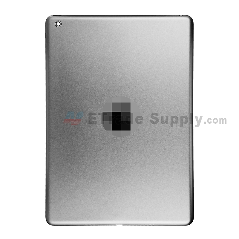 For Apple iPad Air Rear Housing Replacement (Wifi Version)- Gray - Without Capacity Icon - Grade S+