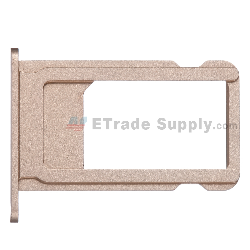 For Apple iPhone 6S SIM Card Tray  Replacement - Gold - Grade S+