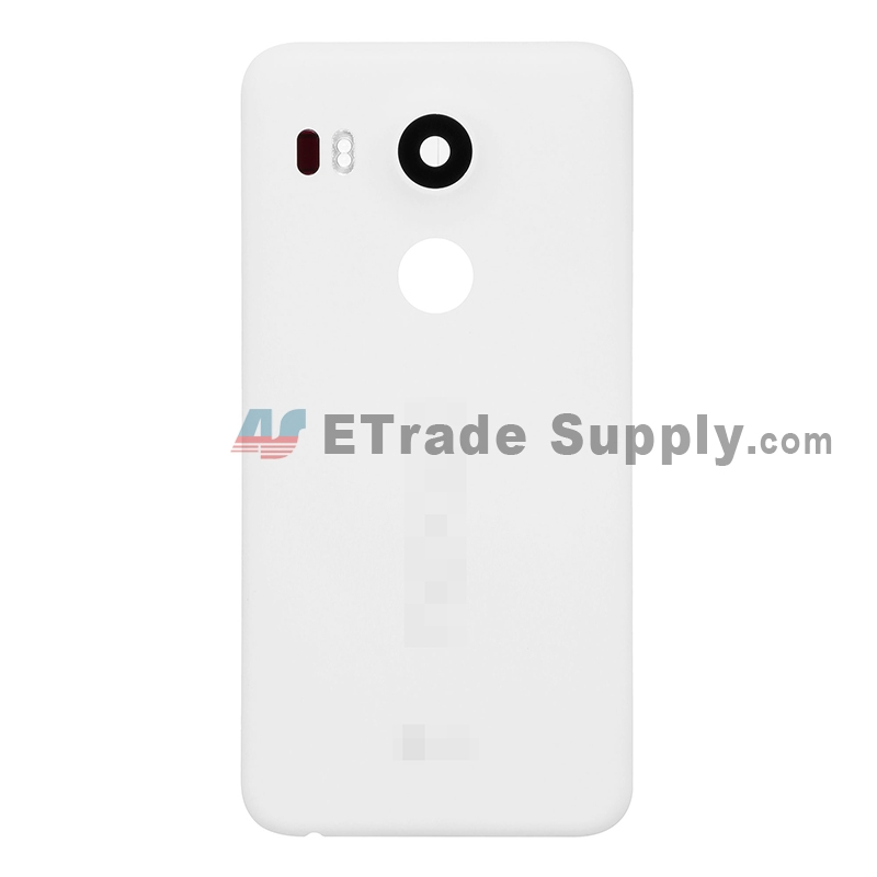 For LG Nexus 5X LS-H790 Battery Door Replacement (North America Version) - White - Grade S+