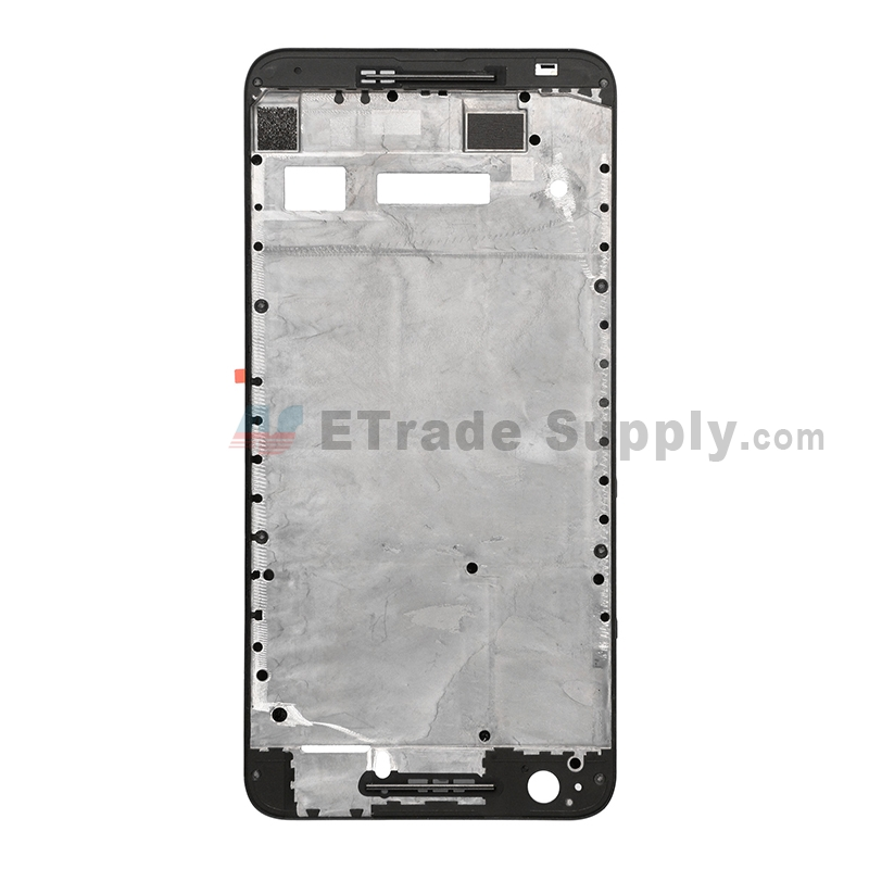 For Huawei Nexus 6P Front Housing Replacement - Black - Grade S+