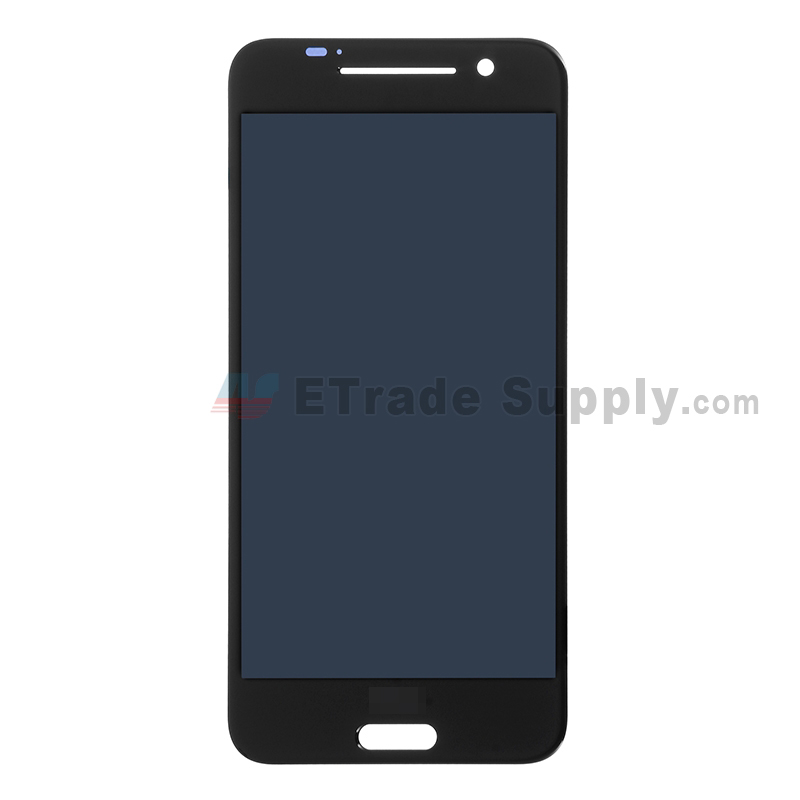 For HTC One A9 LCD Screen and Digitizer Assembly Replacement - Black - With Logo - Grade S+