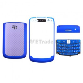 For BlackBerry Bold 9700 Housing Replacement ,Blue - Grade R