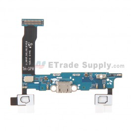 For Samsung Galaxy Note 4 SM-N910P Charging Port Flex Cable Ribbon  Replacement - Grade S+