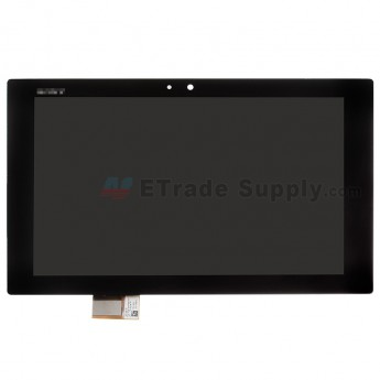 For Sony Xperia Tablet Z LCD Screen and Digitizer Assembly Replacement - Black - With Logo - Grade A