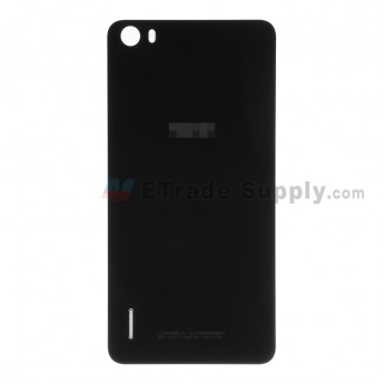 For Huawei Honor 6 Battery Door Replacement - Black - With Logo - Grade S+
