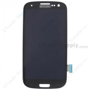 For Samsung Galaxy S III GT-I9300/I9305/T999/I747/R530/I535/L710 LCD Screen and Digitizer Assembly Replacement - Black - Grade S+