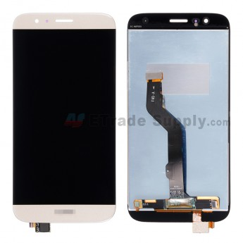 For Huawei D199/G8 LCD Screen and Digitizer Assembly Replacement - Gold - With Logo - Grade S+
