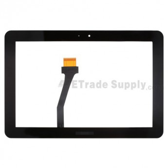 For Samsung Galaxy Note 10.1 N8000/N8010/N8013 Digitizer Touch Screen Replacement - Black - With Logo - Grade S+