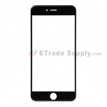 For Apple iPhone 6 Plus Glass Lens Replacement - Black - Grade R