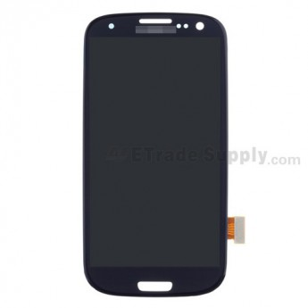 For Samsung Galaxy S III GT-I9300/I9305/T999/I747/R530/I535/L710 LCD Screen and Digitizer Assembly Replacement - Sapphire - Grade S+