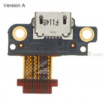 For HTC Droid Incredible 4G LTE Charging Port Flex Cable Ribbon  Replacement ,Version A - Grade S+