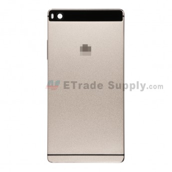 For Huawei P8 Rear Housing Replacement - Gold - With Logo - Grade S+