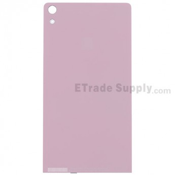For Huawei Ascend P6 Battery Door Replacement - Pink - Grade S+