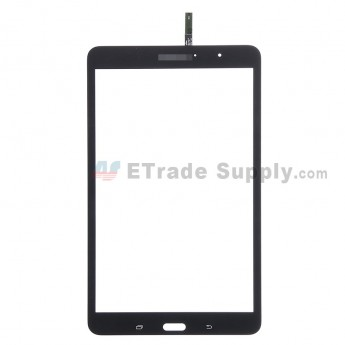 For Samsung Galaxy Tab Pro 8.4 SM-T320 Digitizer Touch Screen Replacement - Black - With Logo - Grade S+
