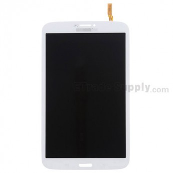 For Samsung Galaxy Tab 3 8.0 SM-T311 LCD Screen and Digitizer Assembly Replacement - White - Grade S+