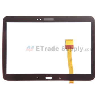 For Samsung Galaxy Tab 3 10.1 GT-P5210 Digitizer Touch Screen Replacement - Brown - With Logo - Grade S+