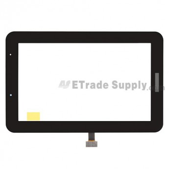 For Samsung Galaxy Tab 2 7.0 GT-P3110 Digitizer Touch Screen Replacement - Black - With Logo - Grade S