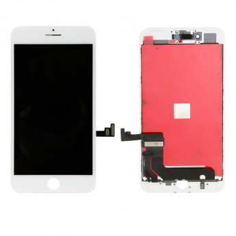 For Apple iPhone 7 Plus LCD and Digitizer Assembly with Frame Replacement - White - Grade S+