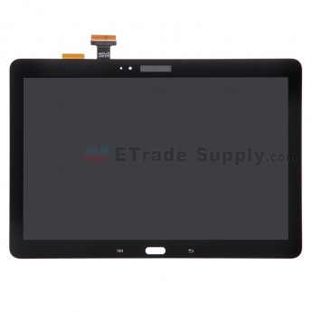 For Samsung Galaxy Note 10.1 2014 Edition SM-P600 LCD Screen and Digitizer Assembly Replacement - Black - Samsung Logo - Grade A