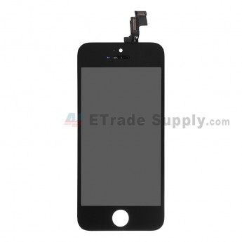 For Apple iPhone SE LCD Screen and Digitizer Assembly with Frame Replacement - Black - Grade R