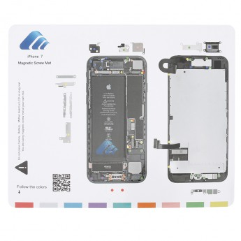 For Apple iPhone 7 Magnetic Screw Mat Replacement - Grade R
