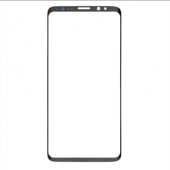 For Samsung Galaxy S9 Series Glass Lens Replacement - Black - Without Logo - Grade S+