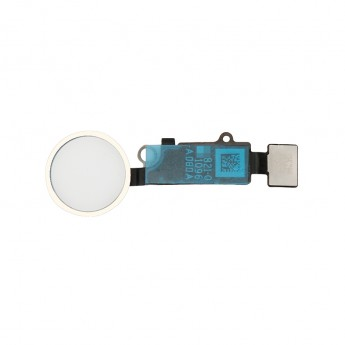 For Apple iPhone 8/8 Plus Home Button Assembly with Flex Cable Ribbon Replacement - Black - Grade R