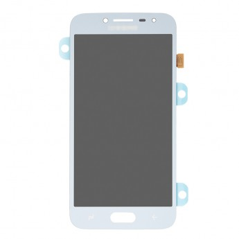 For Samsung Galaxy J2 Pro (2018) SM-J250 LCD Screen and Digitizer Assembly Replacement - Blue Mist - Grade S+