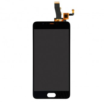 For Meizu M5 M611H LCD Screen and Digitizer Assembly Replacement - Black - Without Any Logo - Grade S+