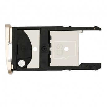 For Motorola Moto Z2 Play SIM Card Tray Replacement - Gold - Grade S+