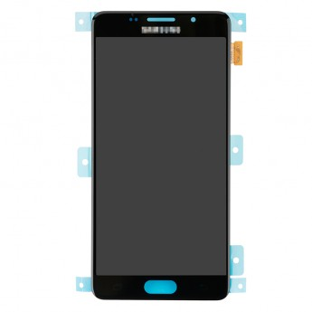 For Samsung Galaxy A5 2016 SM-A510F LCD Screen and Digitizer Assembly Replacement - Black - With Logo - Grade S