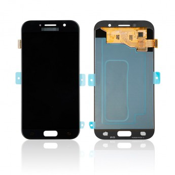 For Samsung Galaxy A5 2017 SM-A520 LCD Screen and Digitizer Assembly Replacement - Black - With Logo - Grade S
