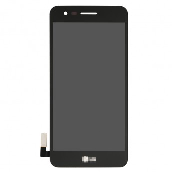 For LG K4 (2017) LCD Screen and Digitizer Assembly Replacement - Black - With Logo - Grade S+