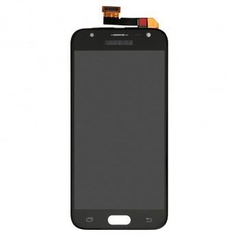 For Samsung Galaxy J3 (2017) J330 LCD Screen and Digitizer Assembly Replacement - Black - With Logo - Grade S+