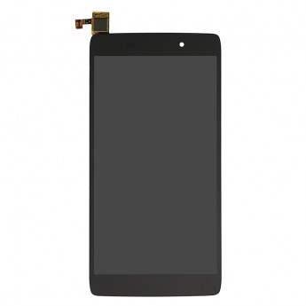 For Alcatel One Touch Idol 3 6039Y LCD Screen and Digitizer Assembly Replacement - Black - Grade S+