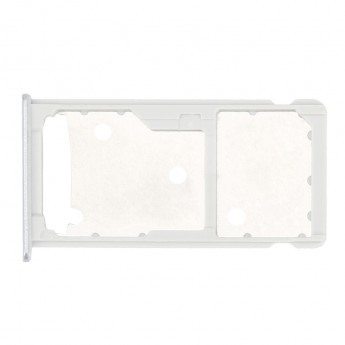 For Huawei Honor 5c / Honor 7 Lite SIM Card Tray Replacement - Silver - Grade S+