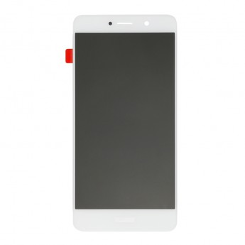 For Huawei Y7 2017 LCD Screen and Digitizer Assembly Replacement - White - With Logo - Grade S+