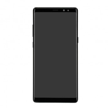 For Samsung Galaxy Note 8 Series LCD Screen and Digitizer Assembly with Front Housing Replacement - Black - Without Logo - Grade S