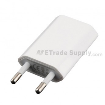 For Apple iPhone Series Charger (Eur Plug,5W) - Superior Quality - Grade R