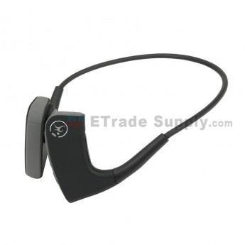 For Wireless Bone Conduction Headphones Bluetooth 4.1 Headset Sports Earphone - Gray
